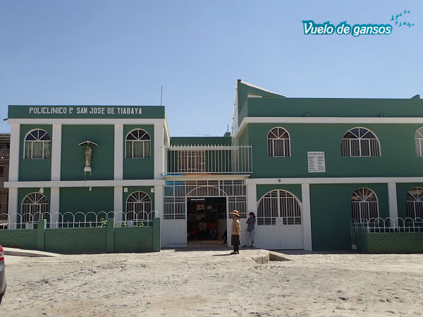 Posta médica en San José de Tiabaya, Arequipa (Perú)